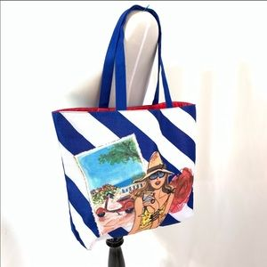 FREE W/ $50 PURCHASE! NWOT Vacation Beach Tote
